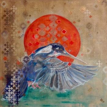 Kingfisher Kingfisher Print